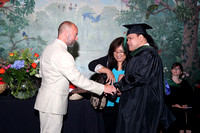 Pacific College of Oriental Medicine Graduation 2014 Receiving Diploma